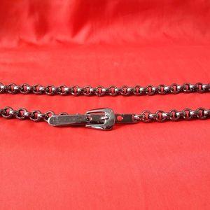 Women's Metal Belt Adjustable Length